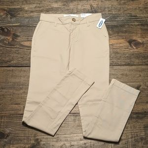 Old Navy girl's khaki pants